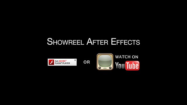 Watch Showreel on Youtube